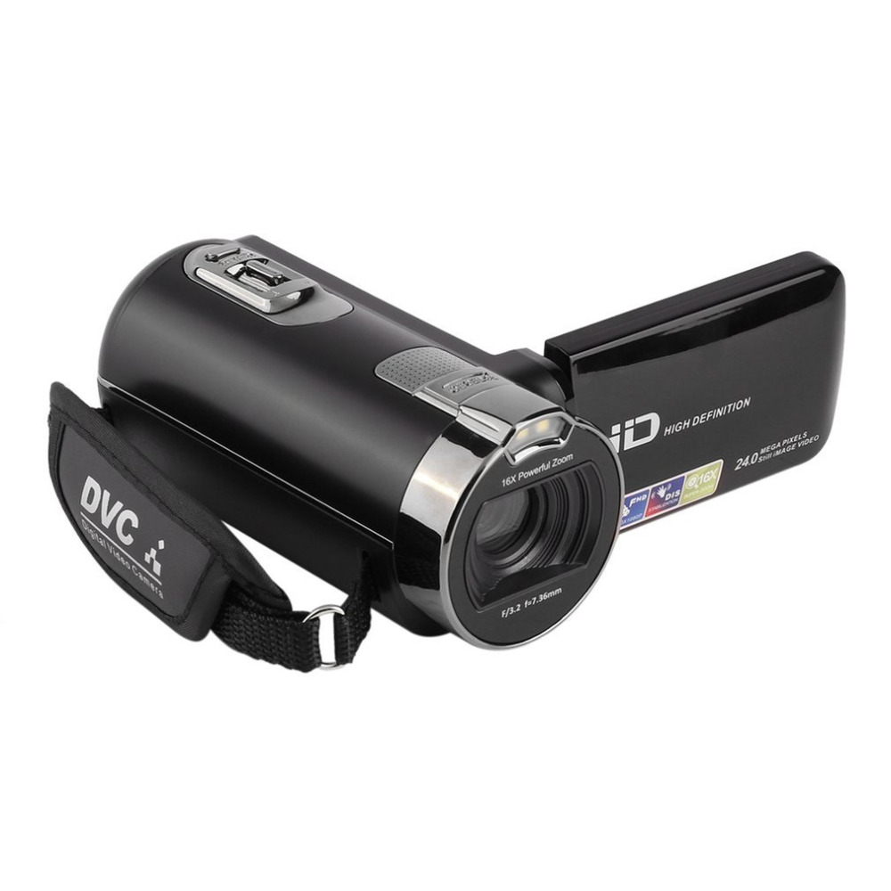 Digital Video Camera Full HD 1920x1080P 24MP 2.7 Touch Screen 16x Zoom Mini Camcorder DV Camera Digital Video with LCD