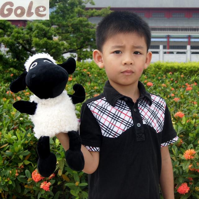 Shaun The Sheep Conjunto Venta Dedo Marioneta de Mano Famille Jirafa Peluche Brinquedos educativos Jirafa León Leopardo Tigre Tortuga