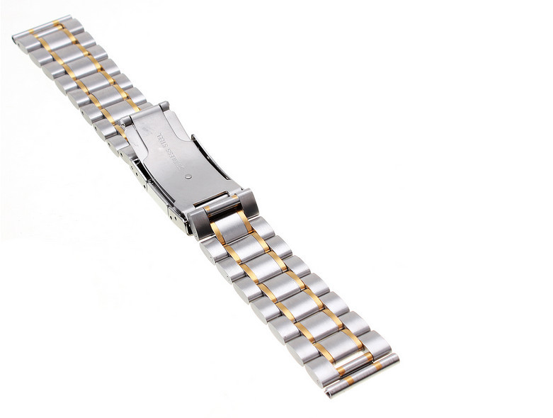 High quality 1PCS 18MM 20MM 22MM 24MM Solid Stainless Steel Watch band Watch strap 4 color available -123101