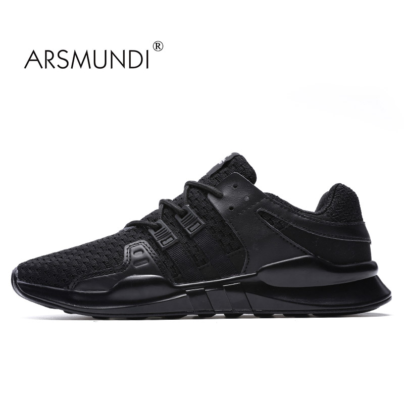 ARSMUNDI Original Men Running Shoes 87-716-2 Fall 2017 PU Fabric Breathable FREE FLEXIBLE Running Shoe Sport Men mesh Shoes Men kelme 2016 new children sport running shoes football boots synthetic leather broken nail kids skid wearable shoes breathable 49