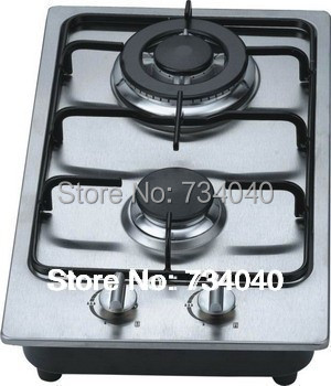 Charmant Gas Cooker,2 Burner Gas Cooktop,built In Cooktop,stainless Steel Cooktop,