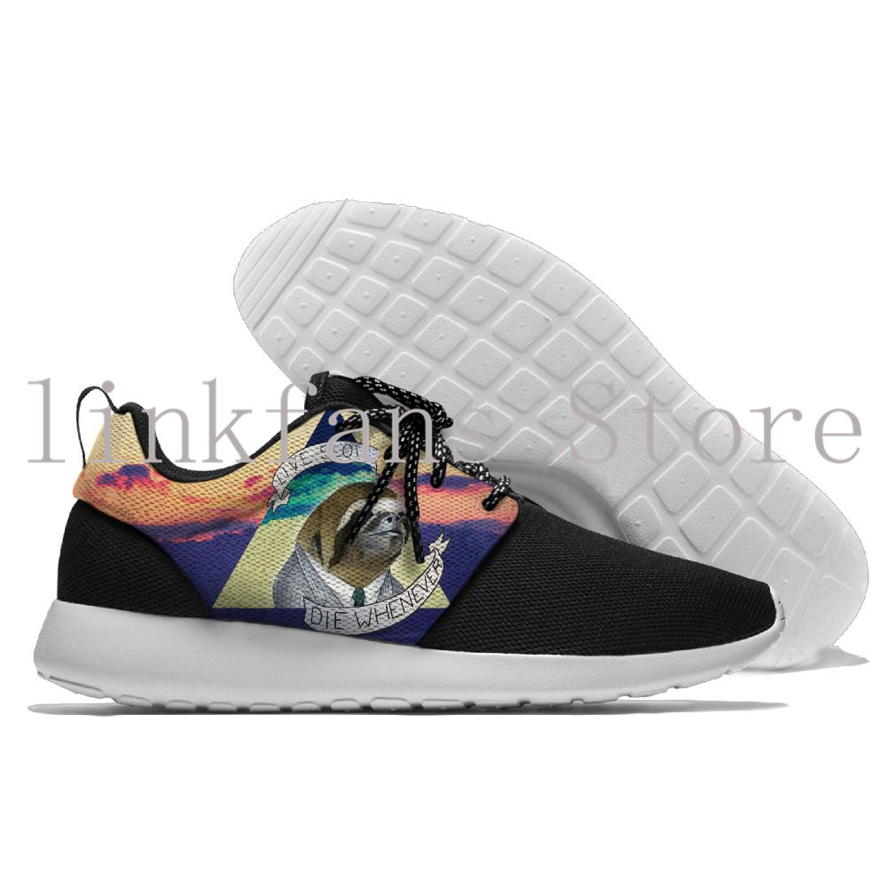 Super lazy Sloth mens Wear comfortable walking shoes running shoes outdoor sports sneakers travel sport shoes