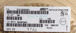 CAP TANT TAJC156K025RNJ 15 25 10% V 2312 Capacitores UF Tamanho C 50 pcs