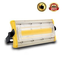 LED flood light 30w 50W 100W 150W 200w COB floodlight Waterproof AC85-265V outdoor advertising spotlight garden Lamp lighting цена