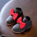 YNB Más Nueva Manera Del Invierno Botas Niñas con Arco, Felpa Botas de Nieve de los niños Niñas Zapatos de La Princesa, 2017 de La Moda de Invierno Botas de Niña