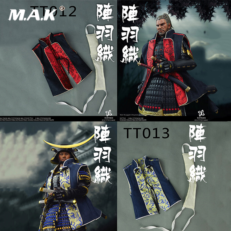 Japanese samurai Clothing set TITTOYS 1/6 Scale NO.TT012/TT013 Fight kimono (vest) For 12 Soldier Figure no head no bodyJapanese samurai Clothing set TITTOYS 1/6 Scale NO.TT012/TT013 Fight kimono (vest) For 12 Soldier Figure no head no body