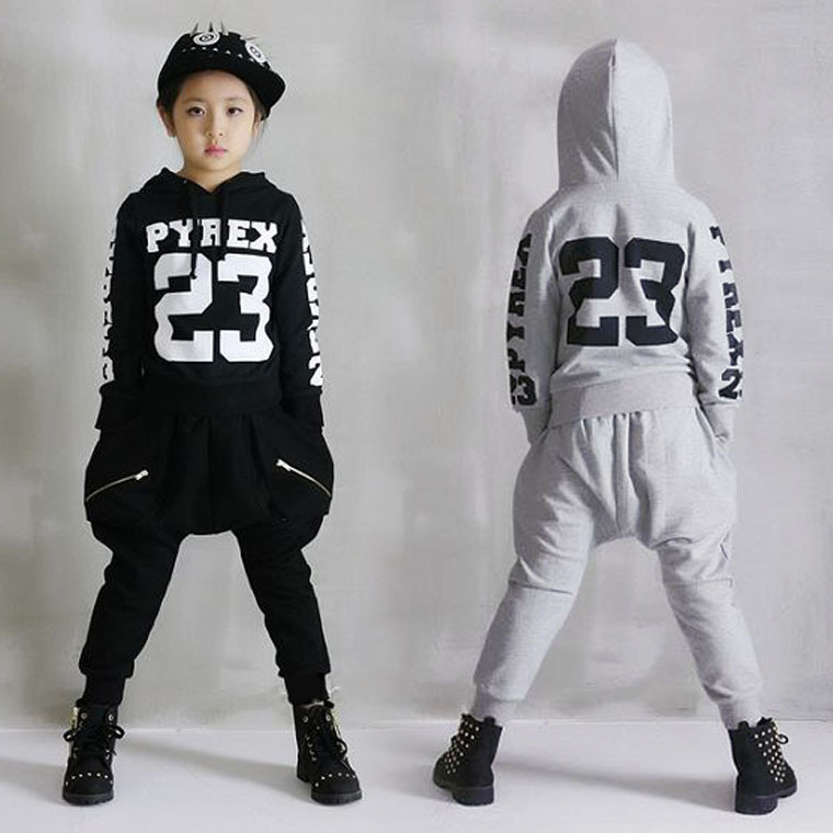 New fashion Spring Autumn boy children s clothing set streets Costumes kids sport suits Hip Hop