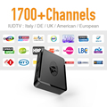 Mag 254 TV Box Media Player con 1700 Europa de Suscripción Francés árabe Islámico Cielo Deporte Estable y Simple Tv Caja IPTV