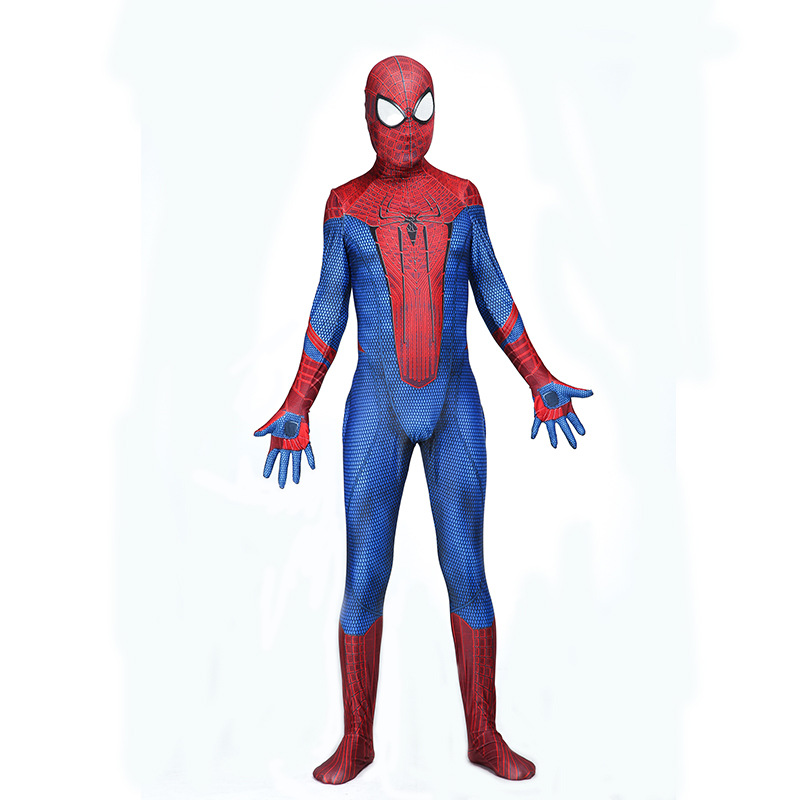 The Amazing Spider-man Carnival Costume Amazing Spiderman Cosplay Lycra Spider Print Suit Spandex Full Body  Costumes
