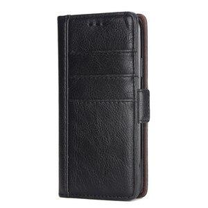 Image 2 - Raccoglitore di Cuoio di lusso di Caso per Il Iphone 8 7 6 6S Plus Slot Card Supporto Del Basamento di Vibrazione Magnetica 360 Libro cover per Iphone X XS MAX XR