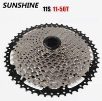 The Newest SUNSHINE Mountain Bike 11 Speed Card Type Flywheel 11 50T Bicycle 11Speed Cassette Freewheel