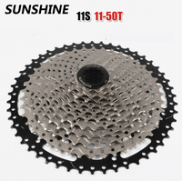 The Newest SUNSHINE Mountain Bike 11 Speed Card Type Flywheel 11 50T Bicycle 11Speed Cassette Freewheel