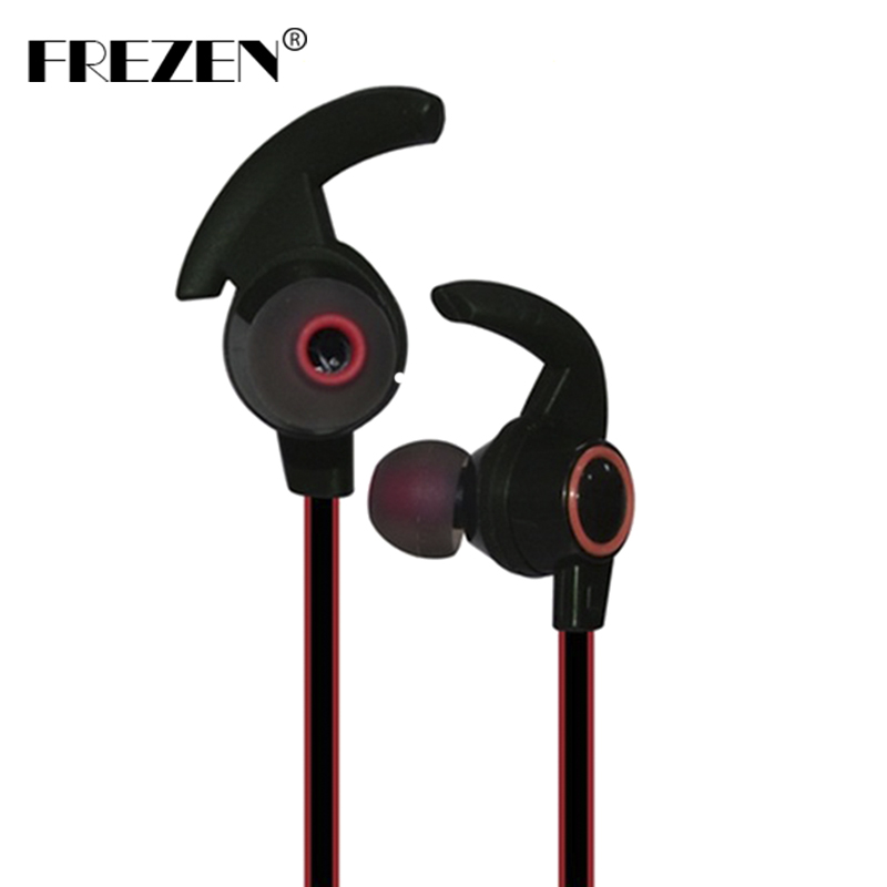 FREZEN Bluetooth Earphone Sport Wireless V4.1 Headset Super Bass Stereo Earbuds Earphone With Mic For Android Xiaomi Iphone PC mini bluetooth earphone smallest wireless headset earbuds with 6 hour playtime car headset with mic for iphone android phone