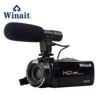 Лидер продаж Профессиональный WI FI видео Камера Цифровая видеокамера HDV Z20 H.264 1080 P HD 3,0 Touch Дисплей Горячий башмак удаленного Управление