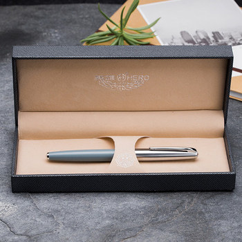 fountain pen adult practice character 14k gold pen  High-end gift box for business men