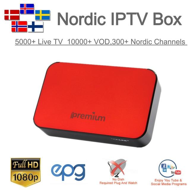 AVOV TVonline Smart TV Box with marvel IPTV 5000+ 4K Europe Nordic France Sweden German USA Spain Portugal Dutch UK Live TV
