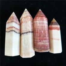 2 шт. натуральные камни и хрустальные точки, точечный камень из свинины, красная линия, каменная палочка, башня