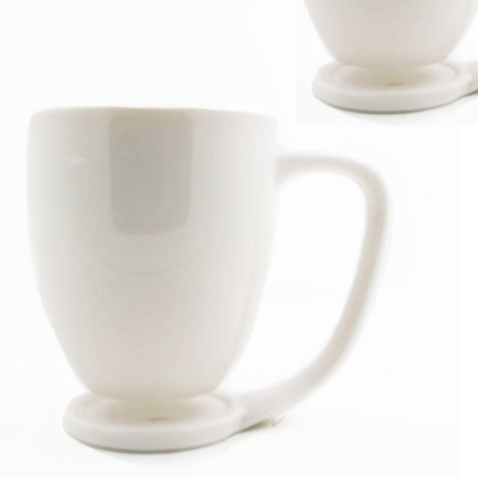 1piece Porcelain Coffee Mug With Built