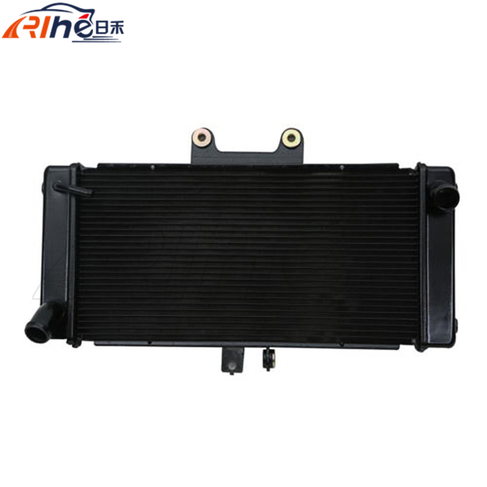 motorcycle radiator cooler aluminum motorbike radiator black For SUZUKI BANDIT GSF1250S GSF1250 2008 2009 2010 2011 2012 2013