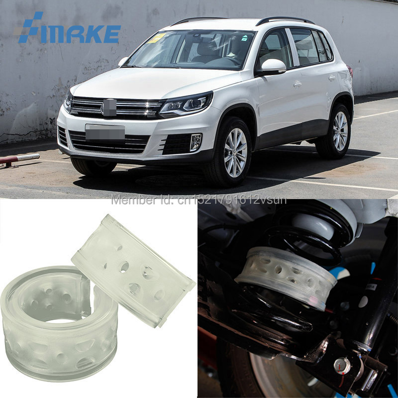 smRKE For VW Tiguan Car Auto Shock Absorber Spring Buffer Bumper Power Cushion Damper Front/Rear High Quality SEBS