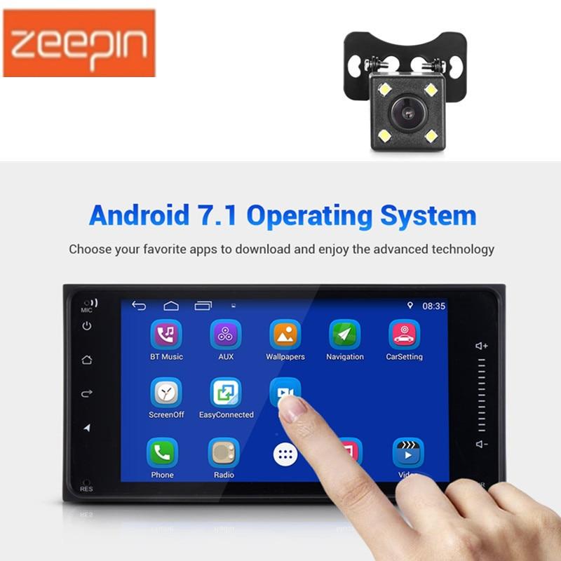 все цены на Zeepin 7-inch 2 Din Android 7.1 HD Car Multimedia Player Bluetooth 4.0 Wi-Fi GPS Navigation AM / FM Car Radio for TOYOTA