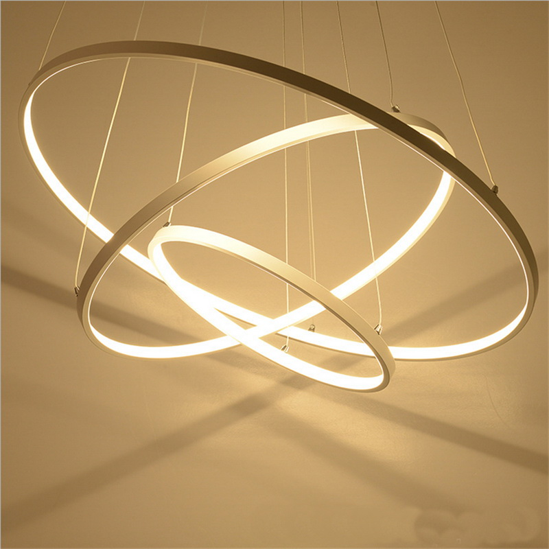 Clothing shop decoration Ring LED post-modern Pendant Lights creative living room dining room book shop lamp pendant lamps za a1 led living room dining modern pendant lights ring fashion personality creative pendant lamp art bedroom hall pendant lamps