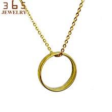 Брендовое Трендовое женское ожерелье из нержавеющей стали никогда не выцветает Хоббит Властелин цепи кулон дружбы вечерние подарки
