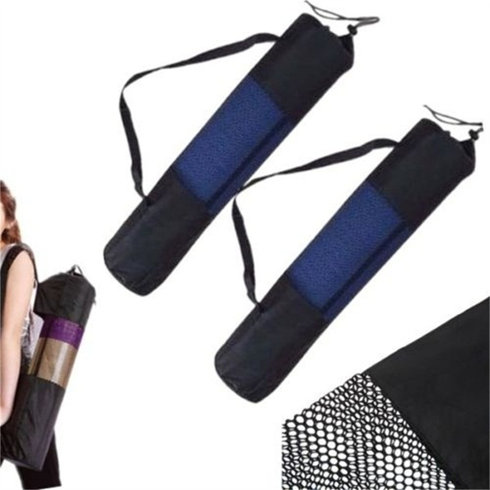 The Best 1pc Sport Exercise Gym Carrier Yoga Washable Mat Bag Classic Portable Adjustable Nylon Holder Net Bag Fashionable Patterns Bridal & Wedding Party Jewelry