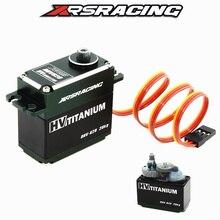 XRSRACING HV 6.0 8.4V 0.09s 29KG Titanium alloy gear ipx8 waterproof Buggy drift Monster truck Crawler Scale Truggy