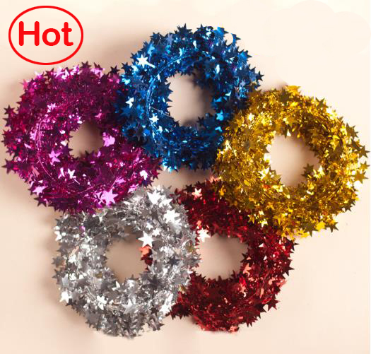 buy hot head ornaments artificial decorative flowers christmas wreaths star gold crown wedding decoration 5 colors from