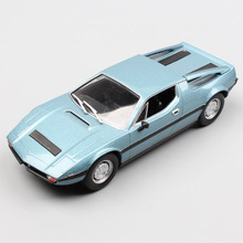 Boys 1/43 Scale hot Merak 2000 GT Tipo AM122 racing auto engine sport car diecast metal models collectible mini Toy for children