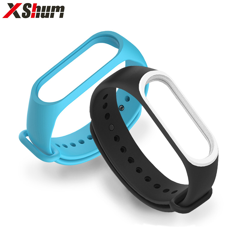 Mi Band 4 Bracelet Strap For Silicone Xiaomi Mi Band 3 For Miband 4/3 Wrist Strap Wristband Replacement Smart Accessories