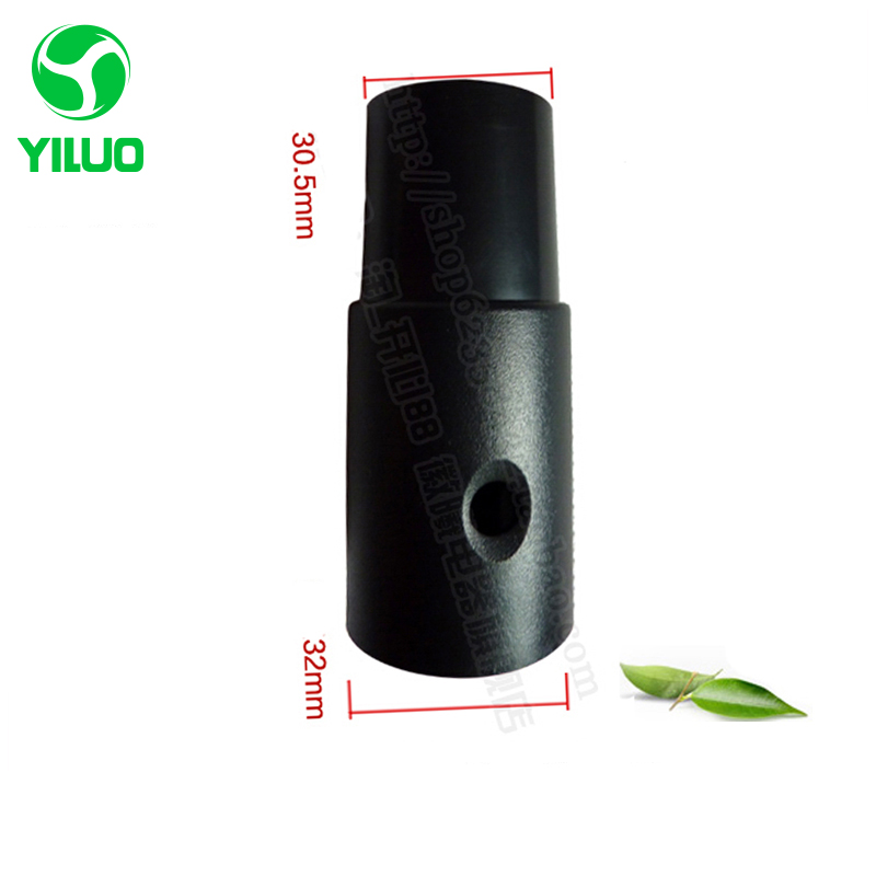 цена на Vacuum cleaner parts inner diameter 32mm to 32mm PP Plastic perforated victaulic joint/ Connector for Idustrial Vacuum Cleaner
