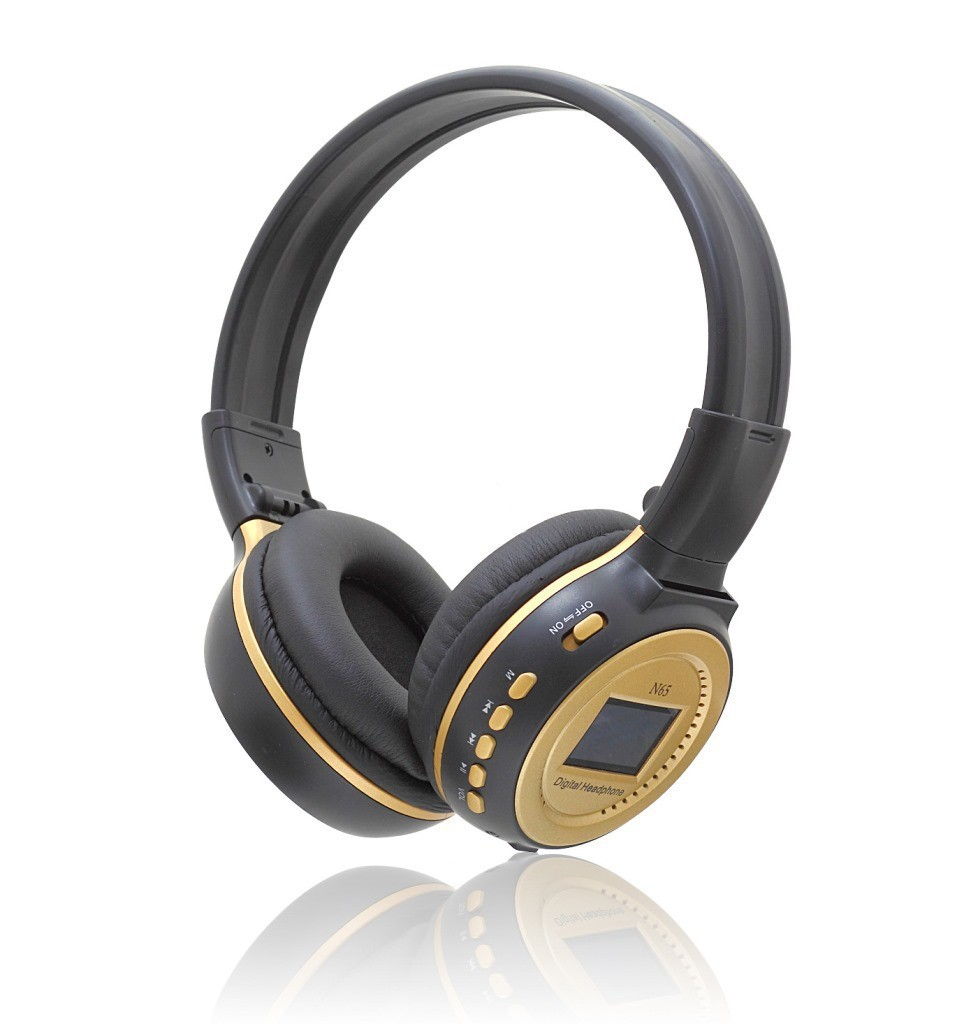 2015-Wireless-Headphone-With-LCD-Screen-Digital-Headset-Zealot-N65-Over-Ear-Headphone-with-noise-cancelling (4)