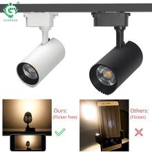 10W 20W 30W 40W LED Track Light Rail Spotlights COB Lamp System Ceiling Spot Lights  Living Room Night Lighting Fixtures