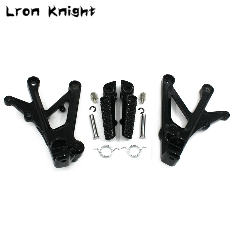 For HONDA CBR600 F4 1999 2000 CBR600 F4I 2001 2007 Motorcycle Accessories Footrests Front Foot Pegs