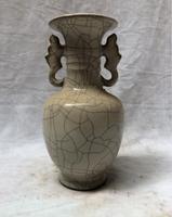 Книги по искусству коллекция китайской династии Сун (1102 1106) royal Porcelain печи под старину Керамика ваза старый фарфор большая настольная ваза 002