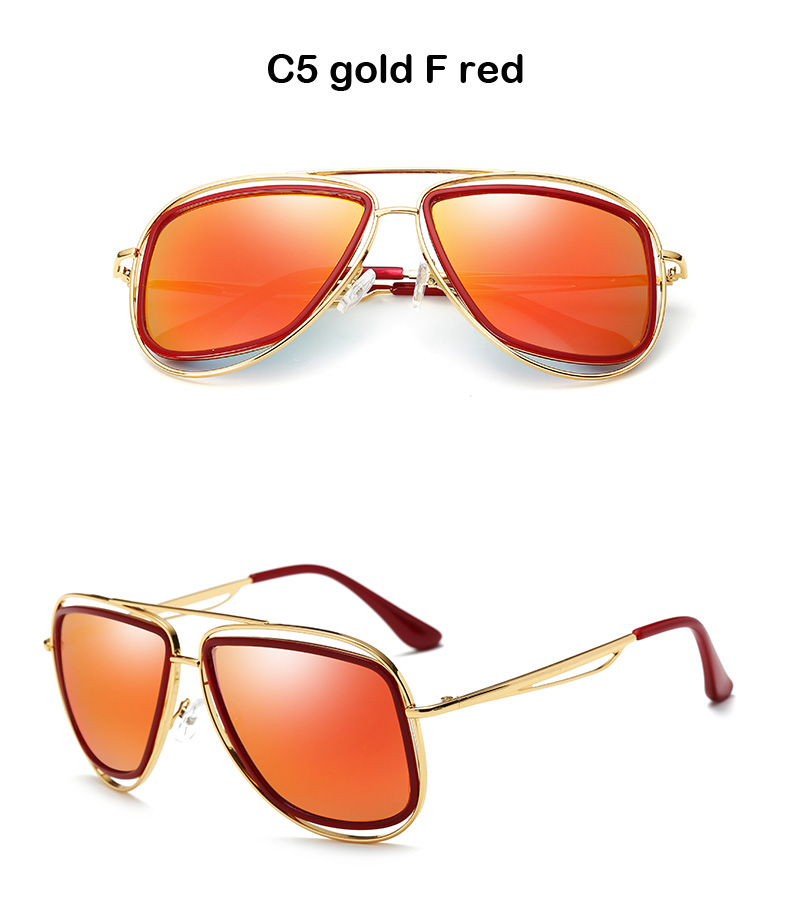 C5 gold F red
