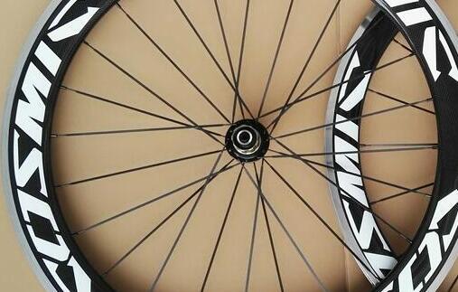 width 23mm alloy brake surface carbon road bike clincher wheels 50mm customized decal aluminum brake surface ceramic hub