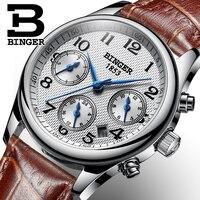 Switzerland BINGER Women Watches Luxury Brand Quartz Watch Women Waterproof Relogio Feminino Sapphire Clock Wristwatches B 603W6