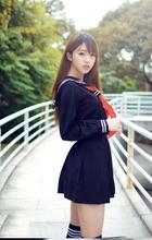2017 summer sailor suit student uniform classic service school uniform set pleated skirt japanese uniforms preppy style 50sets