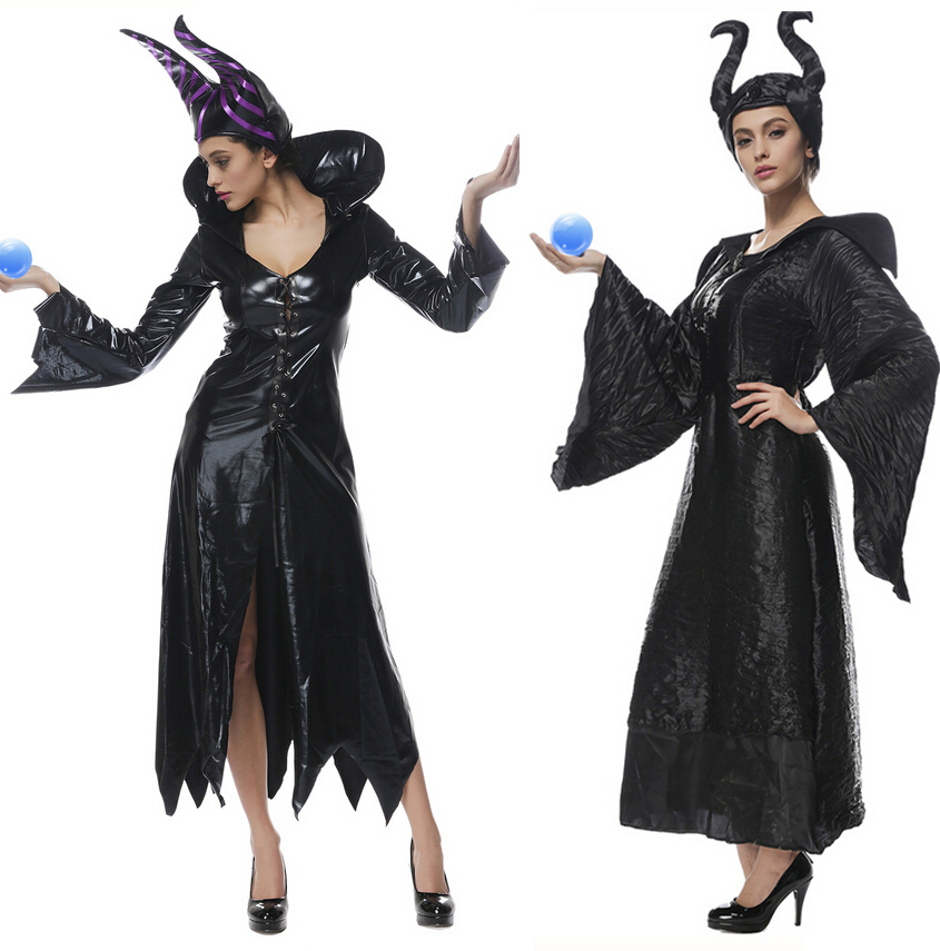 Halloween Party Cosplay Adult Women Sexy Pu Leather -9629
