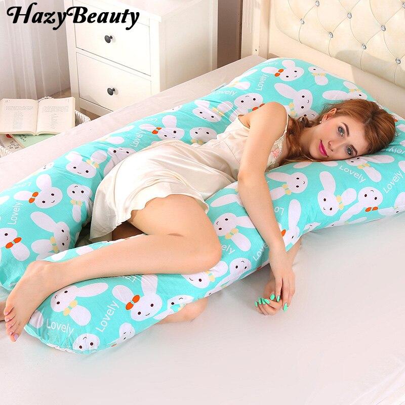 HazyBeauty U Pregnancy Comfortable Pillows Maternity Belt Body Character Pregnancy Pillow Women Pregnant Side Sleepers Cushion