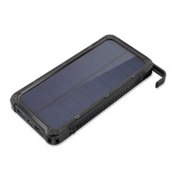 Portable Solar Power Bank 20000MAH Large Capacity Mobile Phone Battery Charger Power Supply Dual USB Ports