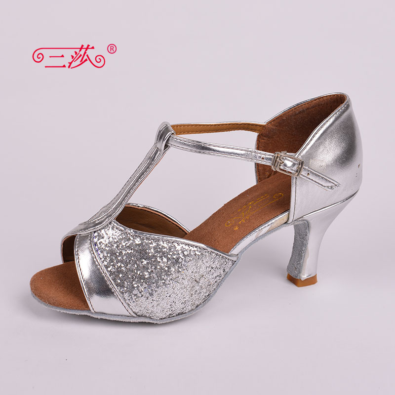 Sasha direct selling professional High Quality font b Salsa b font Tango Sequins Ballroom Latin Dance