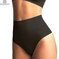 Miss Moly Women S High Waist Cincher Girdle Tummy Control Body Shaper Slimmer Sexy Thong Panty