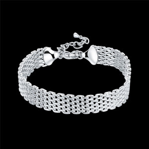 925 Sliver Bracelet Chain Fore