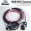 RGB Rear Reversing Camera RVC View For VW Golf 6 Jetta MK5 MK6 Tiguan Passat B7 Scirocco RNS510 RCD510 56D827566A Skoda Octavia