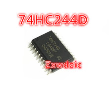 цена на 10PCS 74HC244D SOP20 74HC244 SOP SN74HC244DWR SMD 244D SOP-20 new and original IC