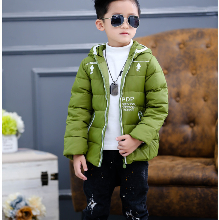ФОТО High quality Down cotton Boys Jacket,Boy Coats Baby boys clothes Winter Christmas jackets Girls coat For New Year E577